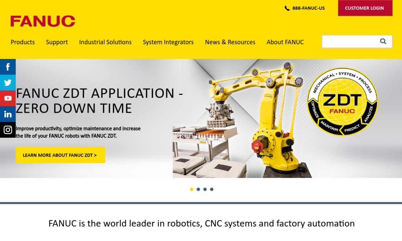 FANUC Robotics America | Palletizers