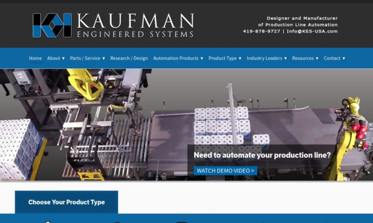 Kaufman Engineered Systems, Inc.