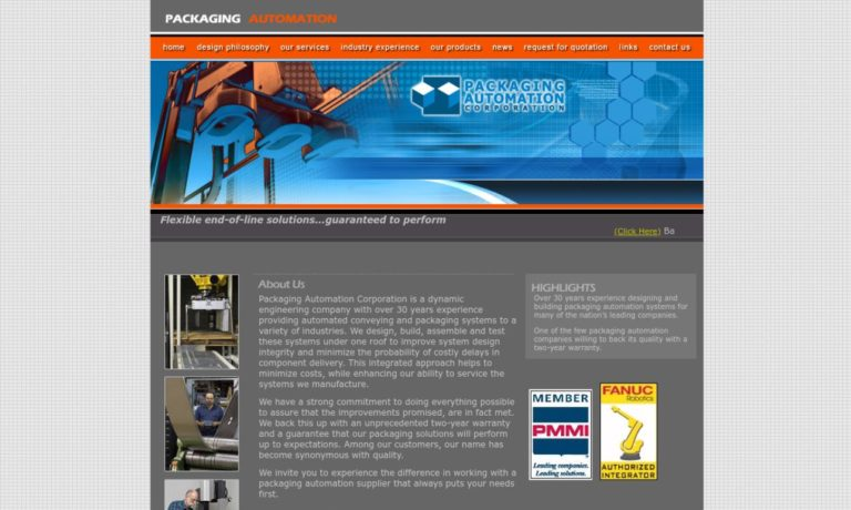 Packaging Automation Corporation