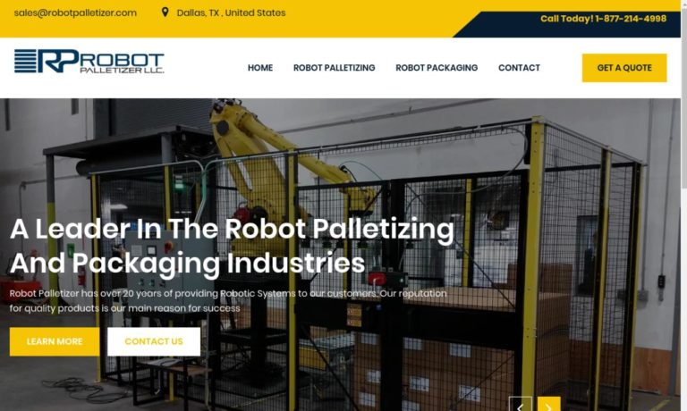 Robot Palletizer LLC