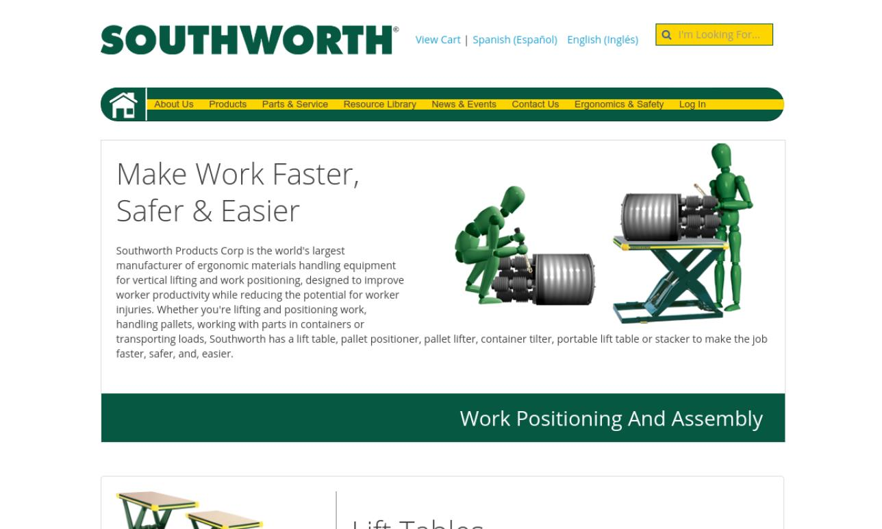 Southworth Products Corporation