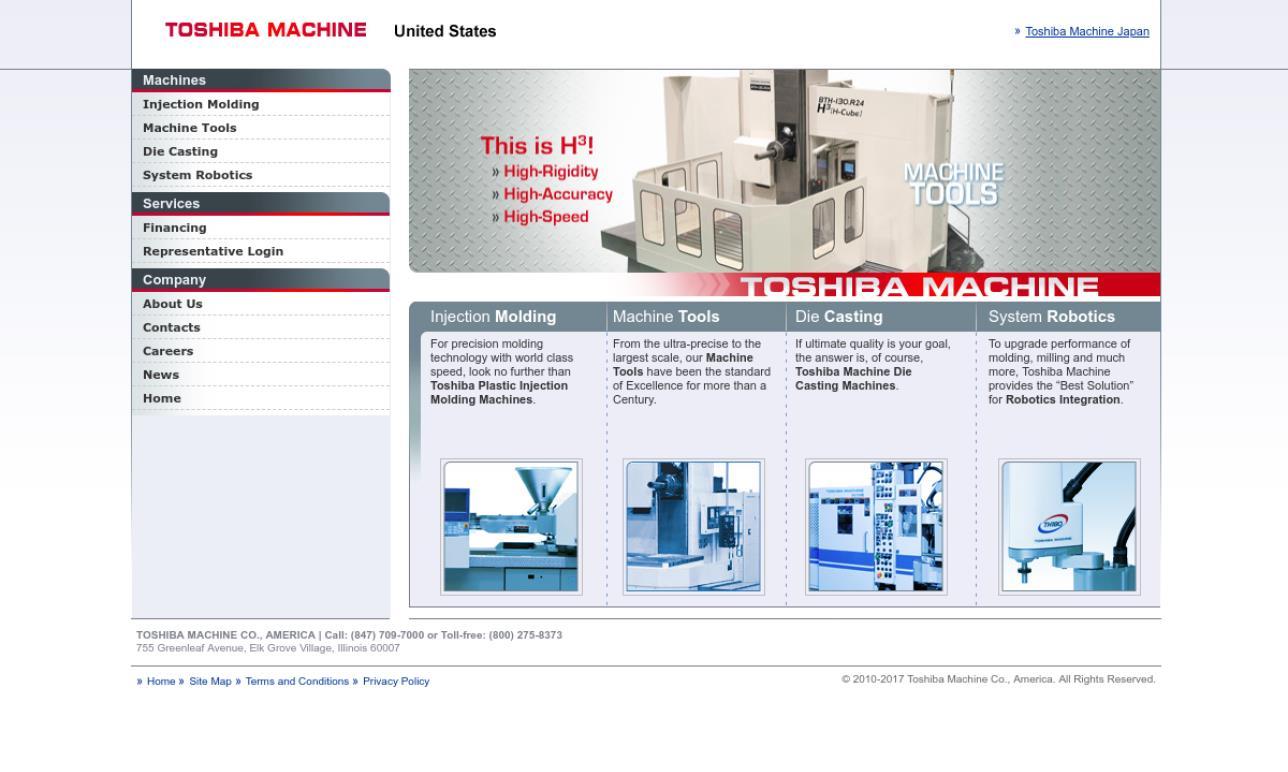 Toshiba Machine Co., America